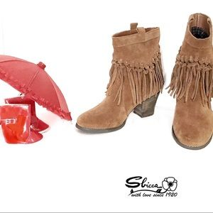 Boho Fringed Booties from Sbicca of California 8